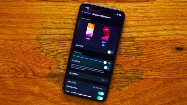 Dark Mode IOS13